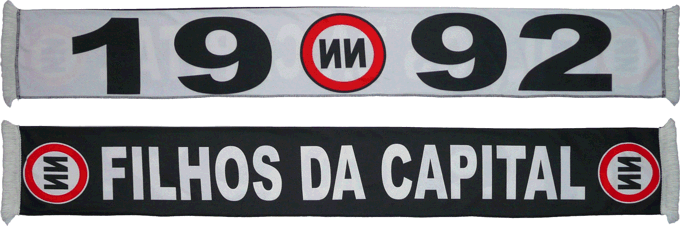 Cachecol No Name Boys Filhos da Capital 1992