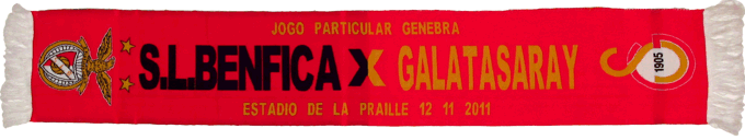 Cachecol Benfica Galatasaray Particular
