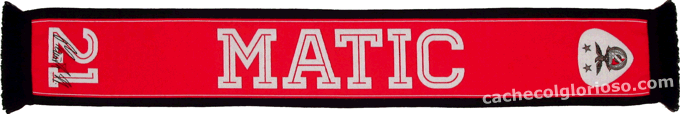 Cachecol Benfica 21 Matic