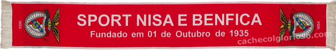 Cachecol Sport Nisa Benfica