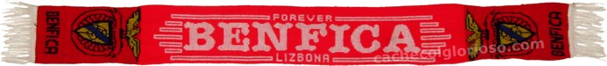 cachecol benfica forever lizbona