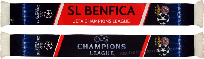 cachecol benfica uefa champions league 2014-15