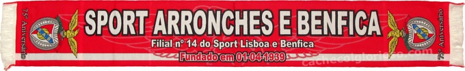 cachecol sport arronches benfica