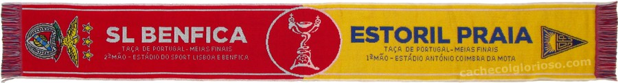 cachecol benfica estoril taca portugal 2016-17