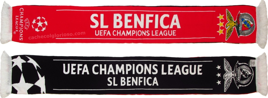 cachecol benfica uefa champions league 2017-18